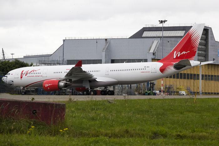 OE-IEA (VP-BDV)  A330-203  535  VIM Airlines @ Dublin Airport 14.08.2016 © Piti Spotter Club Verona