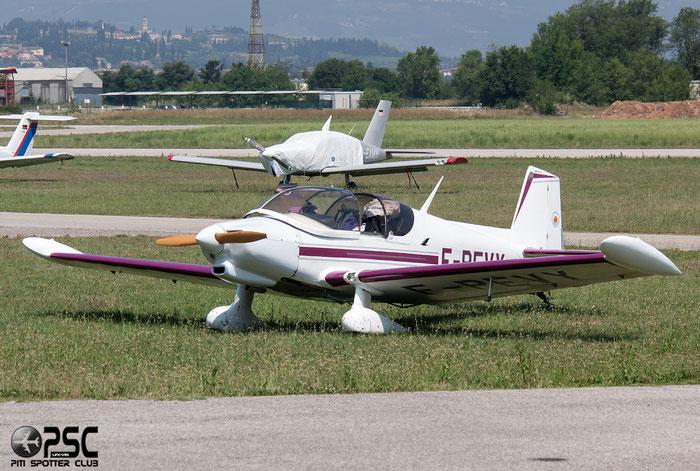 F-PEVY - Boudeau MB 16 @ Aeroporto Verona Boscomantico © Piti Spotter Club Verona
