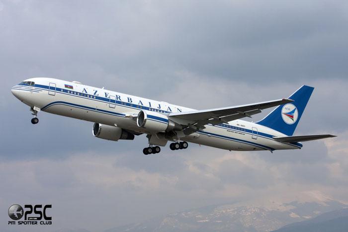 4K-AI01 B767-32LER 40342/990 Government of Azerbaijan @ Aeroporto di Verona © Piti Spotter Club Verona