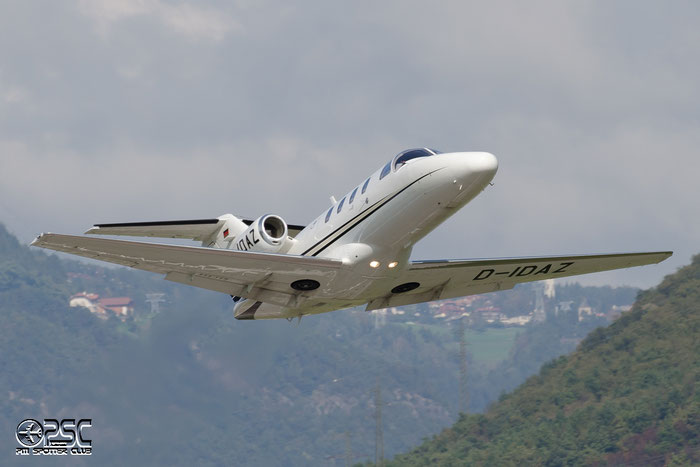 D-IDAZ Ce525 525-0389 Donau Air Service @ Aeroporto di Bolzano © Piti Spotter Club Verona