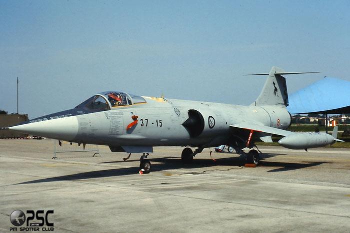 MM6943  37-15 (4-1 ) F-104S-ASA-M  1243 @ Aeroporto di Verona   © Piti Spotter Club Verona