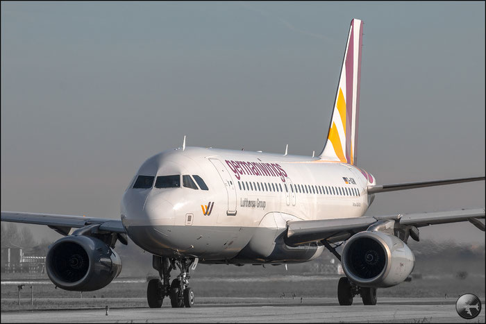 D-AGWI A319-132 3358 Germanwings @ Bologna Airport 02.01.2015 © Piti Spotter Club Verona