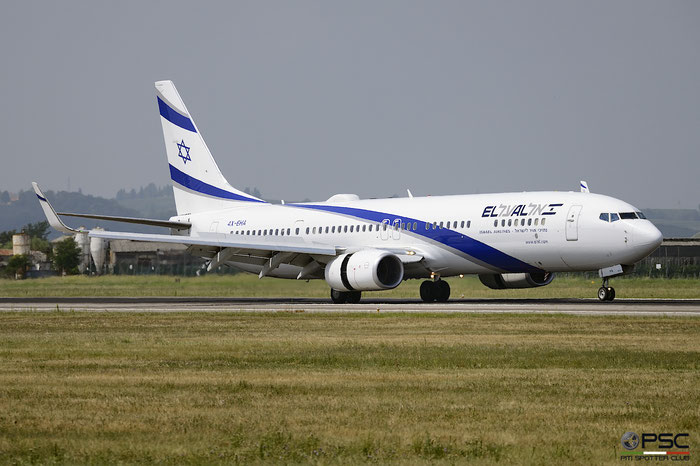 4X-EHA B737-958ER 41552/4632 El Al Israel Airlines @ Aeroporto di Verona 11.08.2018  © Piti Spotter Club Verona