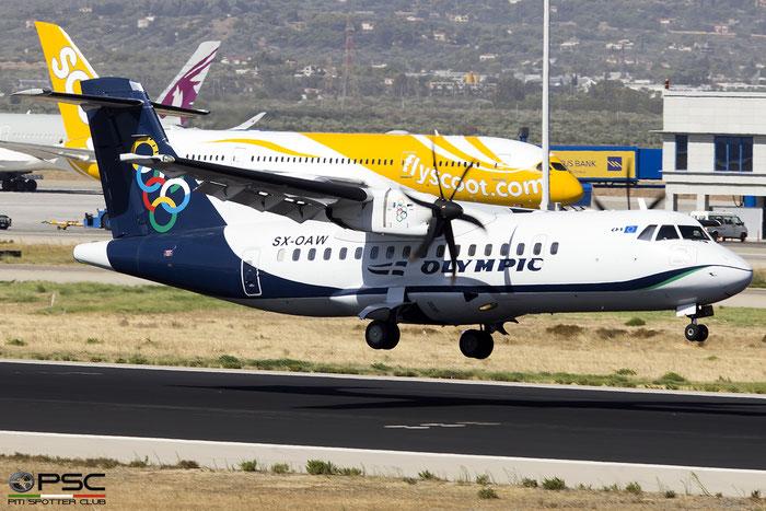 SX-OAW  ATR42-500  1011  Olympic Air  @ Athens 2019 © Piti Spotter Club Verona
