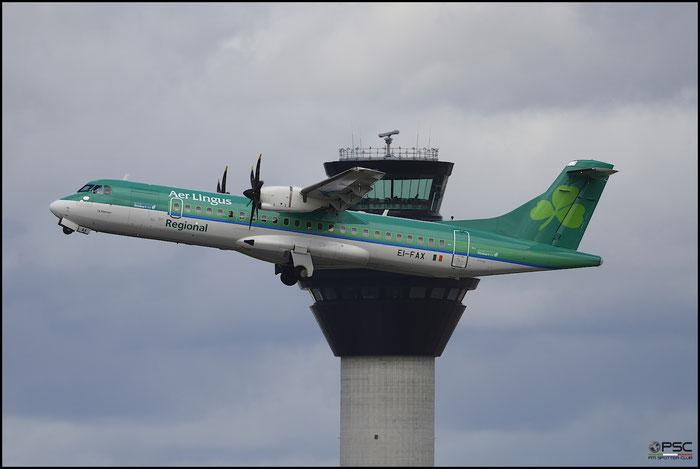 EI-FAX ATR72-212A 1129 Stobart Air  opf Aer Lingus Regional @ Manchester Airport 21.06.2015 © Piti Spotter Club Verona