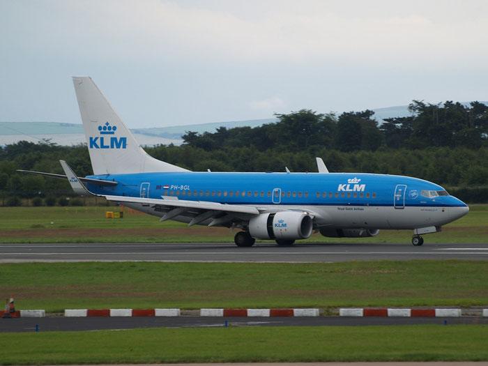 PH-BGL B737-7K2 30369/3407 KLM Royal Dutch Airlines  @ Manchester Airport - 20.07.2011  © Piti Spotter Club Verona