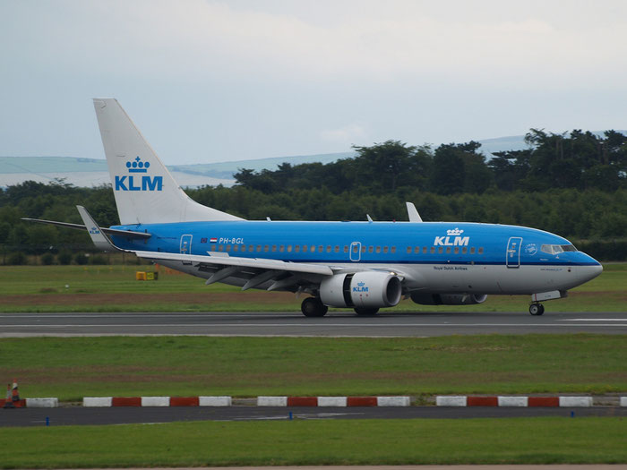 PH-BGL B737-7K2 30369/3407 KLM Royal Dutch Airlines  @ Manchester Airport - 20.07.2011  © Piti Spotter Club Verona