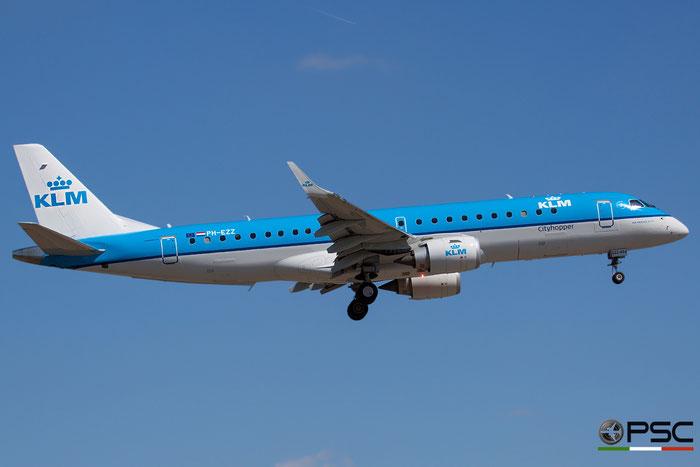 PH-EZZ ERJ190STD 19000654 KLM Cityhopper @ Venice Airport - 16.09.2015  © Piti Spotter Club Verona
