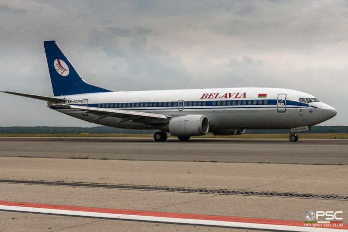 EW-407PA B737-36M 28332/2809 Belavia - Belarusian Airlines @ Milano Malpensa 06.2018 © Piti Spotter Club Verona