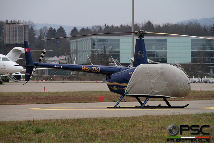 HB-ZKI Robinson Helicopter Co R44 Raven II R44 12503 Heli Sitterdorf AG@ Zurich Airport 14.03.2016 © Piti Spotter Club Verona