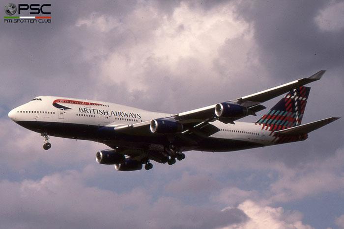 G-CIVZ B747-436 28854/1183 British Airways © 2018 courtesy of Marco Ceschi - Piti Spotter Club Verona