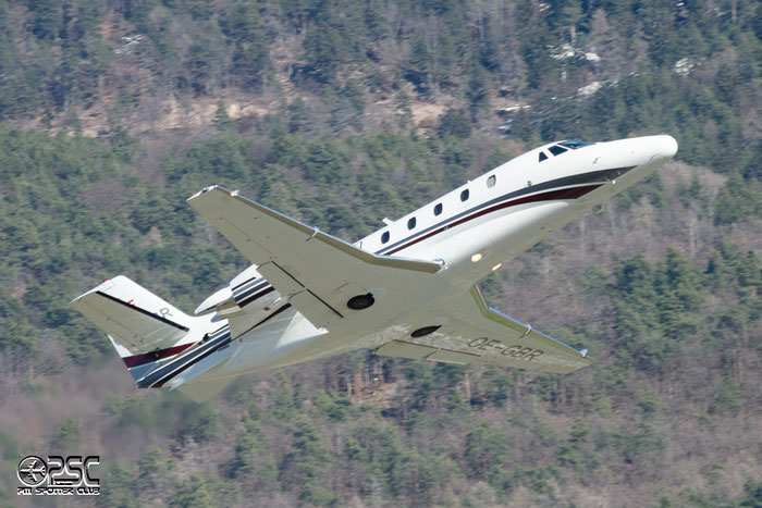 OE-GBR Ce560XLS 560-5749 ABC Bedarfsflug @ Aeroporto di Bolzano © Piti Spotter Club Verona