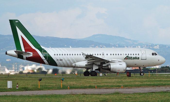 EI-IMH A319-112 2101 Alitalia @ Aeroporto di Verona 04.09.2018  © Piti Spotter Club Verona