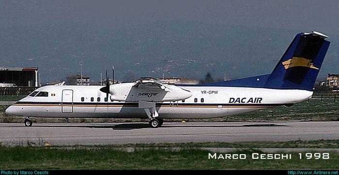 YR-GPW DHC-8-311 267 DAC Air @ Aeroporto di Verona © Piti Spotter Club Verona