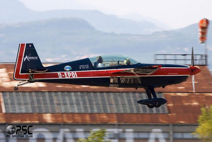 D-EPOI Extra EA-300 E300 @ Aeroporto Verona Boscomantico © Piti Spotter Club Verona