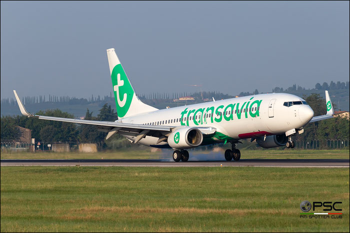PH-HSA  B737-8K2  34171/2950  Transavia Airlines  @ Aeroporto di Verona 09.2020  © Piti Spotter Club Verona