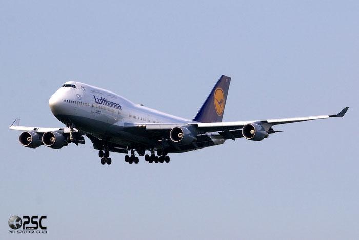 D-ABVZ B747-430 29870/1264 Lufthansa @ Frankfurt Airport  25.07.2014 © Piti Spotter Club Verona