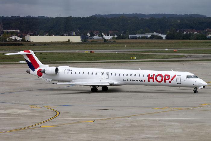 F-HMLM CRJ1000EL 19023 HOP! @ Basel Airport 09.2015 © Piti Spotter Club Verona