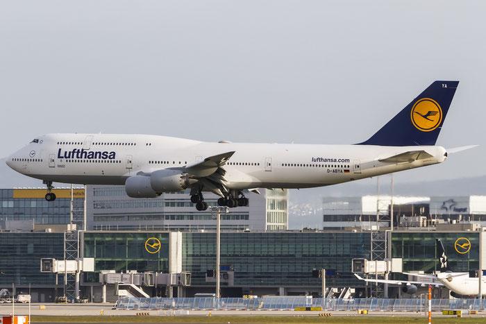 D-ABYA B747-830 37827/1443 Lufthansa @ Frankfurt Airport  08.05.2015 © Piti Spotter Club Verona