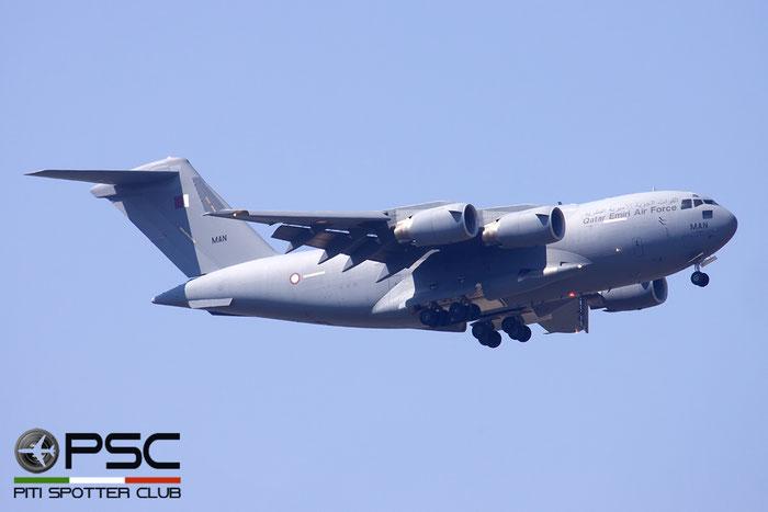 A7-MAN  MAN  C-17A  50276/F275/QA6  10sq  © Piti Spotter Club Verona