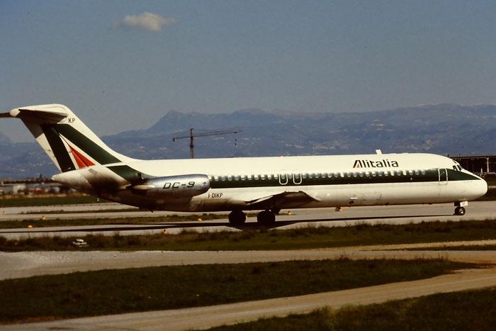 I-DIKP  DC-9-32  47226/333  Alitalia  @ Aeroporto di Verona © Piti Spotter Club Verona