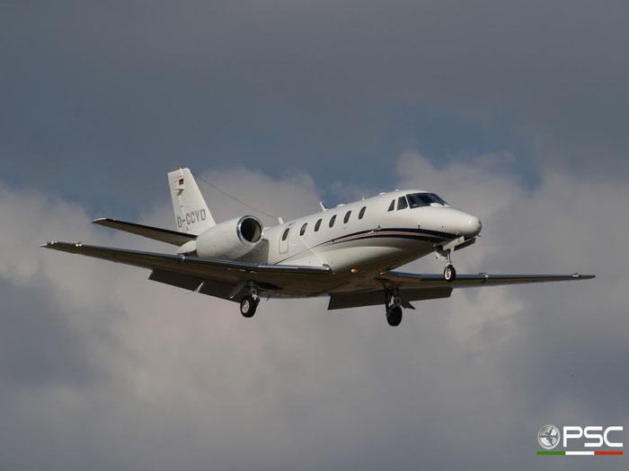 D-CCVD Ce560XLS 560-5784 Dulco GmbH & Co. @ Aeroporto di Verona 06.06.2009  © Piti Spotter Club Verona