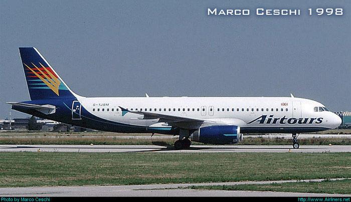 G-YJBM  A320-231  362  Airtours International Airways  @ Aeroporto di Verona © Piti Spotter Club Verona