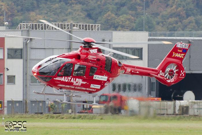 D-HCBO Aiut Alpin Dolomites (AAD) Eurocopter EC135 T3 @ Aeroporto di Bolzano © Piti Spotter Club Verona