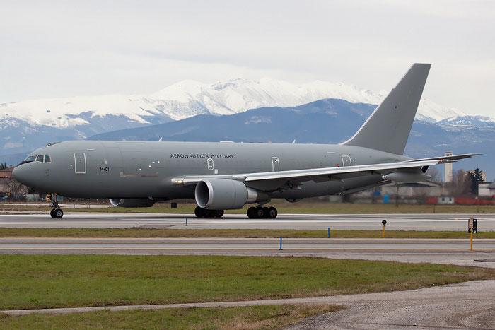 MM62226  14-01  KC-767A  33686/912  8° Gruppo @ Aeroporto di Verona   © Piti Spotter Club Verona