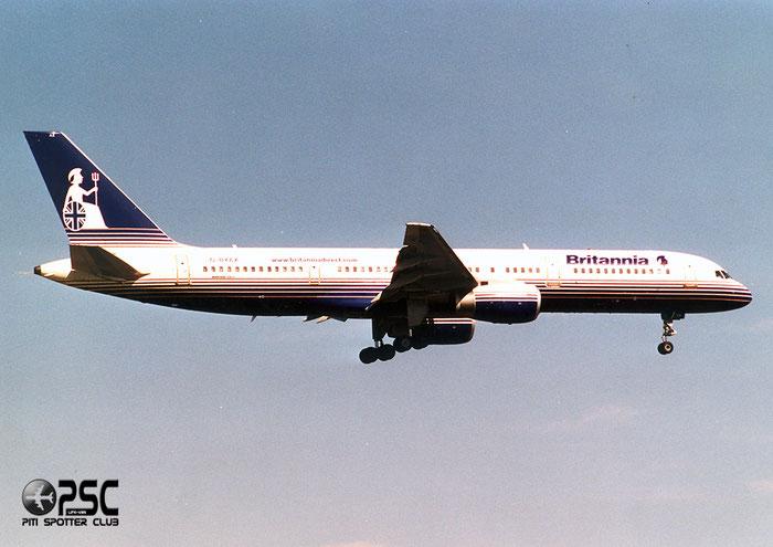 G-BYAX  B757-204  28834/850  Britannia Airways  @ Aeroporto di Verona © Piti Spotter Club Verona