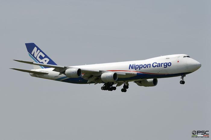 JA15KZ B747-8KZF 36139/1479 NCA - Nippon Cargo Airlines @ Milano Malpensa Airport 05.05.2018 © Piti Spotter Club Verona