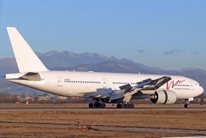 VP-BDQ B777-212ER 28529/389 VIM Airlines @ Aeroporto di Verona - 07.01.2017  © Piti Spotter Club Verona