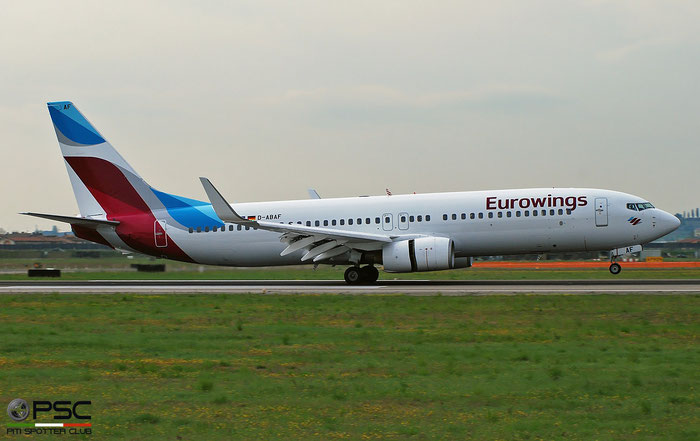 D-ABAF B737-86J 30878/844 Eurowings @ Aeroporto di Verona 04.2019  © Piti Spotter Club Verona