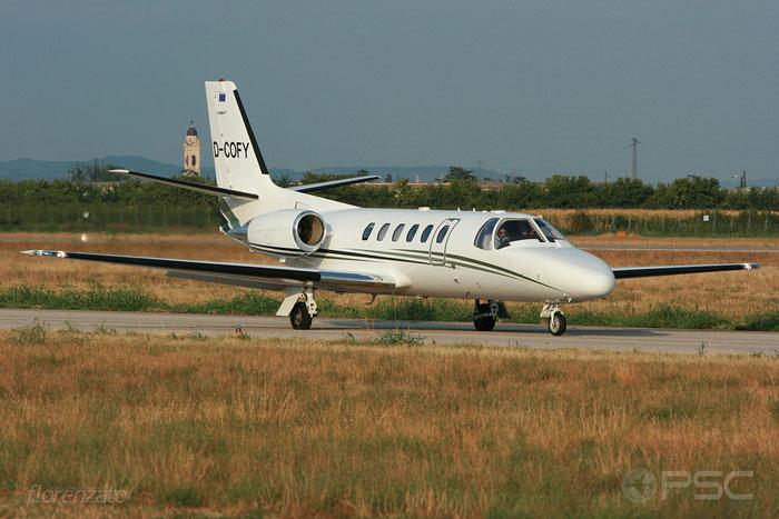 D-COFY Ce550 Bravo 550-0992 @ Aeroporto di Verona 2009  © Piti Spotter Club Verona
