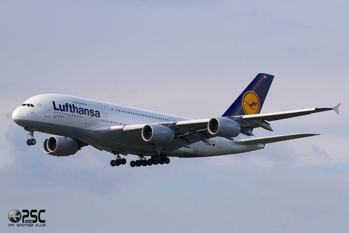 D-AIMG A380-841 69 Lufthansa @ Frankfurt Airport 25.07.2014 © Piti Spotter Club Verona