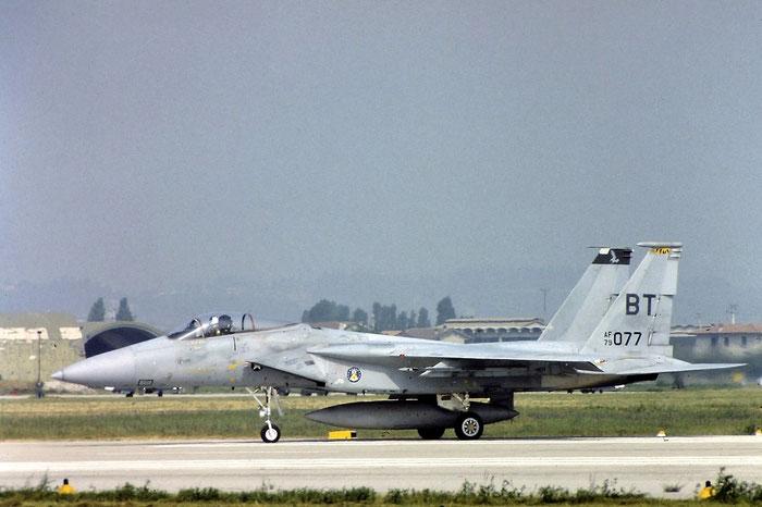 79-0077   F-15C-26-MC  626/C146  114th FS   @ Aeroporto di Verona   © Piti Spotter Club Verona