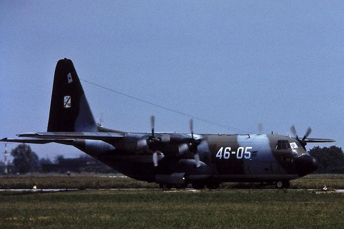 MM61991  46-05  C-130H  4447 @ Aeroporto di Verona © Piti Spotter Club Verona