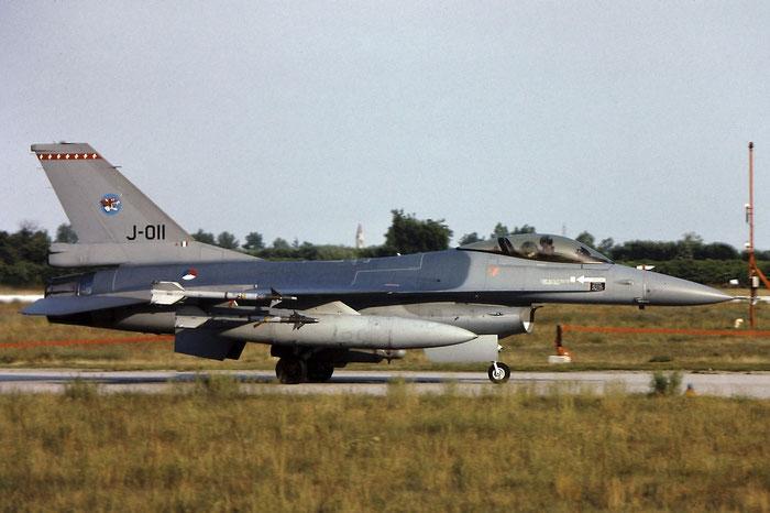 J-011   F-16AM  6D-167  312sq @ Aeroporto di Verona   © Piti Spotter Club Verona