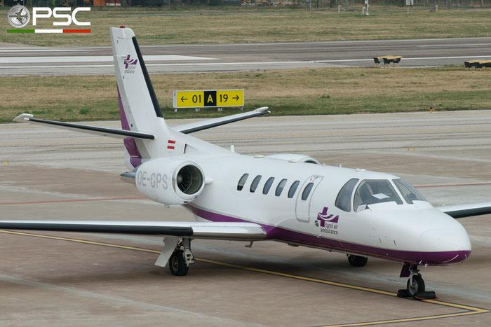 OE-GPS Ce550 Bravo 550-0837 Tyrol Air Ambulance @ Aeroporto di Bolzano © Piti Spotter Club Verona
