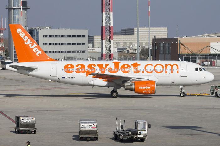 G-EZBR A319-111 3088 EasyJet Airline @ Venezia Airport 25.02.2015 © Piti Spotter Club Verona