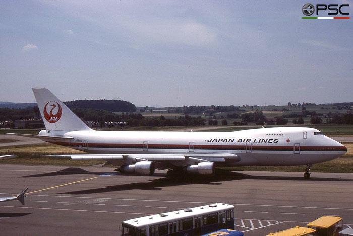JA8110 B747-246B 20504/181 Japan Airlines International © 2018 courtesy of Marco Ceschi - Piti Spotter Club Verona