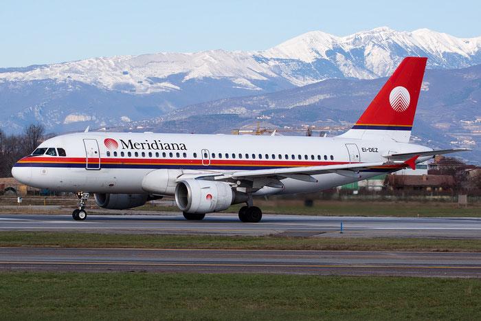 EI-DEZ  A319-112  1283  Meridiana  @ Aeroporto di Verona © Piti Spotter Club Verona