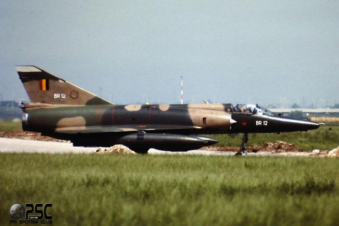 BR12   Mirage 5BR  312 @ Aeroporto di Verona   © Piti Spotter Club Verona