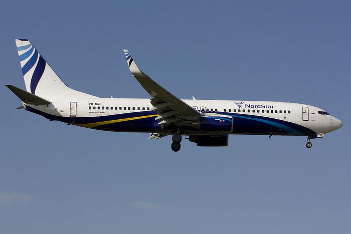 VQ-BNG B737-86J 37747/3120 NordStar Airlines @ Rimini Airport 21.07.2012 © Piti Spotter Club Verona