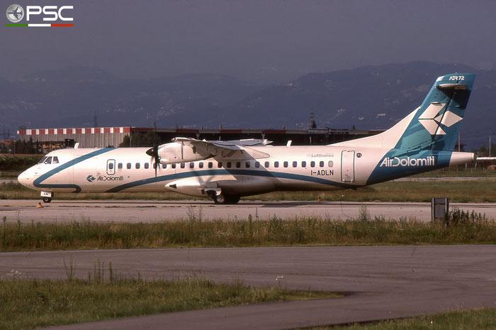 I-ADLN ATR72-212A 557 Air Dolomiti © 2018 courtesy of Marco Ceschi - Piti Spotter Club Verona