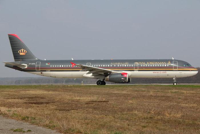 JY-AYH A321-231 2793 Royal Jordanian @ Milano Malpensa Airport 25.03.2012 © Piti Spotter Club Verona
