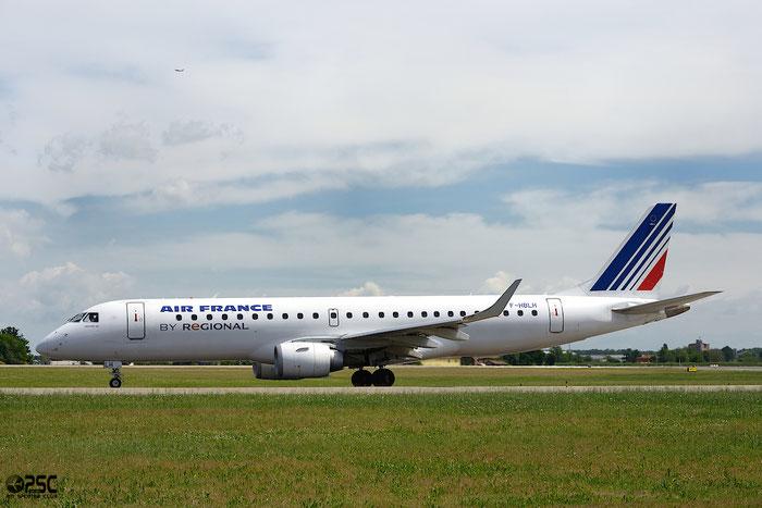 F-HBLH ERJ190STD 19000266 HOP! @ Bologna Airport 04.05.2014 © Piti Spotter Club Verona