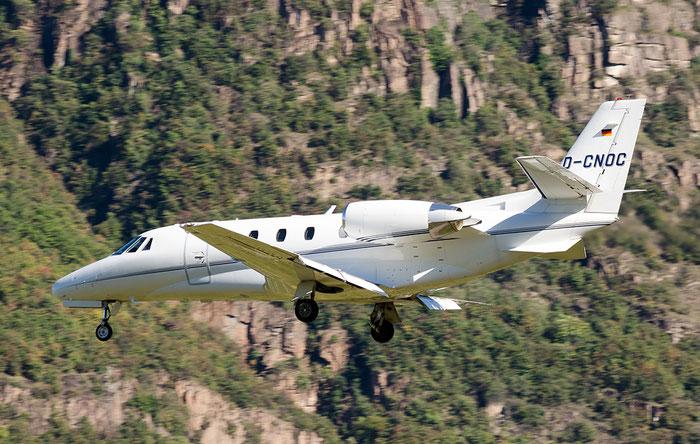 D-CNOC Ce560XLS 560-5814 Atlas Air Service @ Aeroporto di Bolzano © Piti Spotter Club Verona