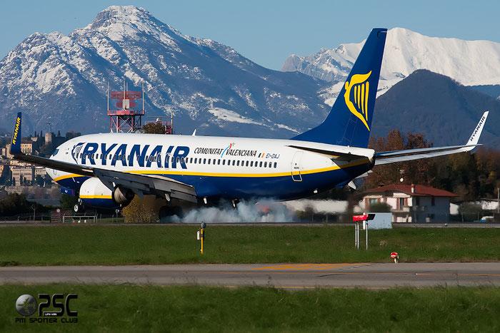 EI-DAJ B737-8AS 33548/1274 Ryanair @ Bergamo Airport 25.11.2013  © Piti Spotter Club Verona