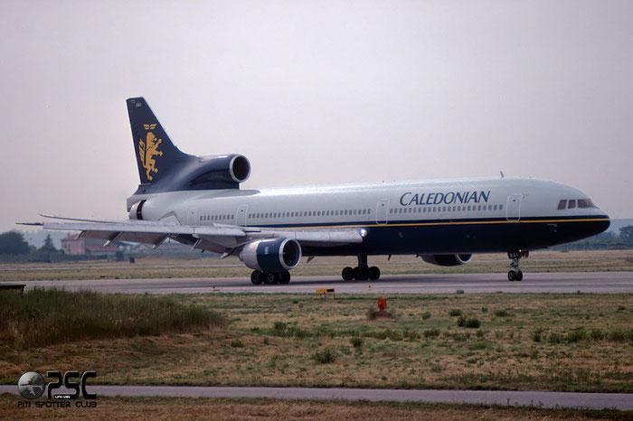 G-BBAI  L-1011-1  193N-1102  Caledonian Airways  @ Aeroporto di Verona © Piti Spotter Club Verona